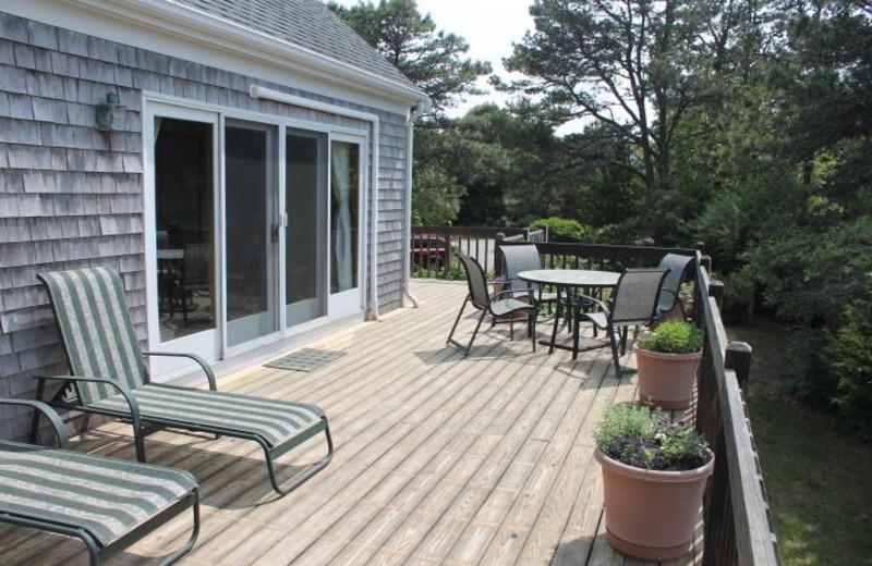 Rental deck at Hopper Real Estate.