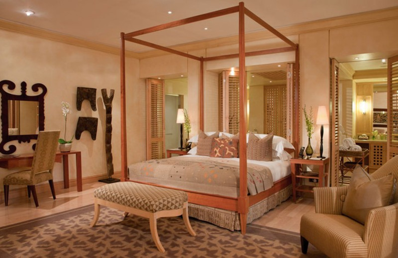Guest room at The Saxon - World Class Business Orientated Hospitality.