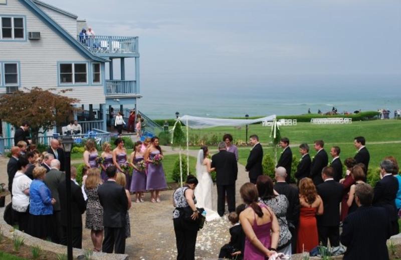 Wedding at Beachmere Inn.