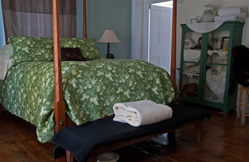Guest room at Roseledge Country Inn.