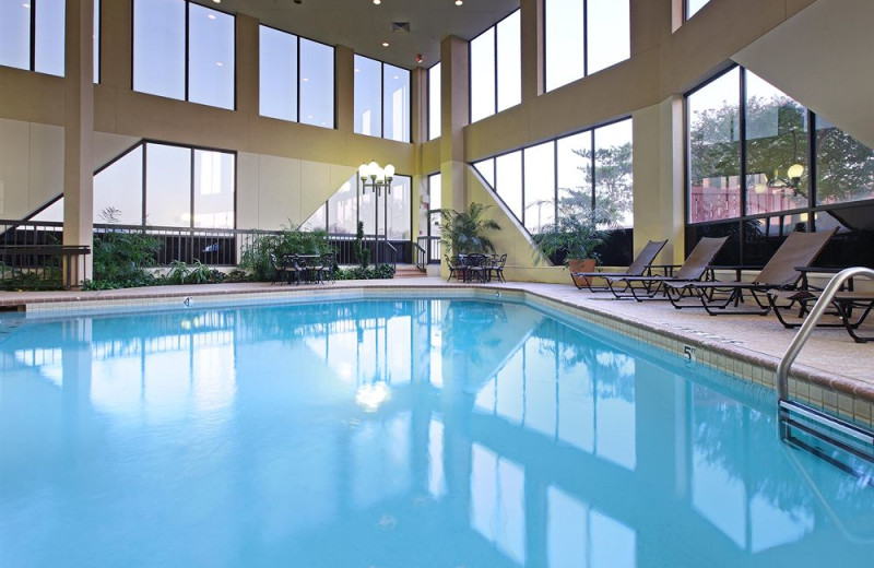Indoor pool at Crowne Plaza Hotel DALLAS-MARKET CENTER.