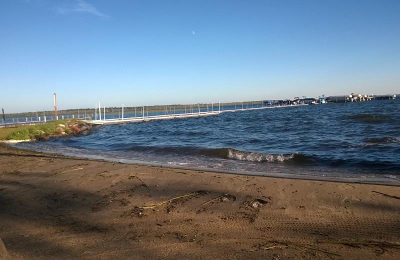 Beach at Sullivans Resort & Campground