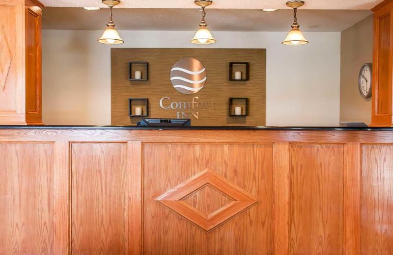 Check in at Comfort Inn Fergus Falls.