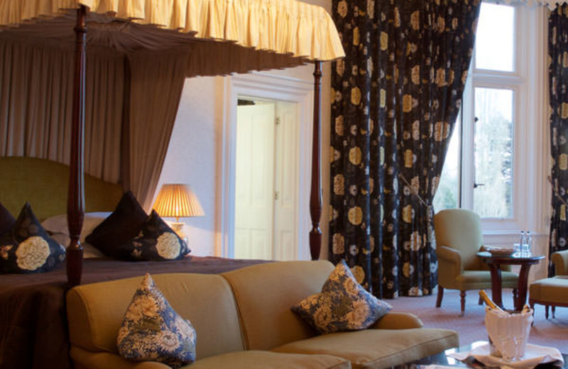 Guest suite at Welcombe Hotel and Golf Course.