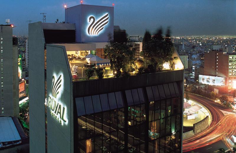Exterior view of Royal Zona Rosa Hotel.