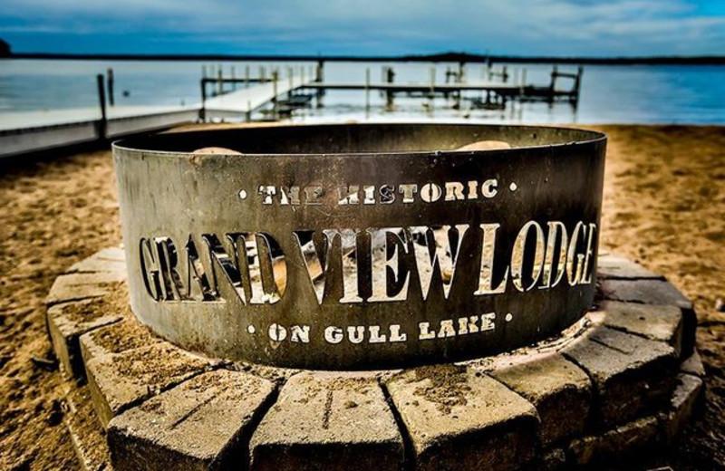 Lake view at Grand View Lodge.
