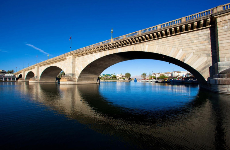 Bridge near Havasu Springs Resort.