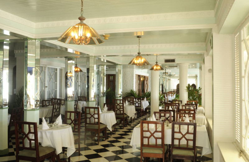 Dining at Shaw Park Beach Hotel & Spa.