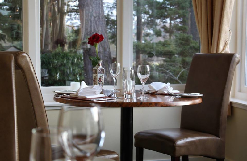 Dining at Glen Lui Country House Hotel.