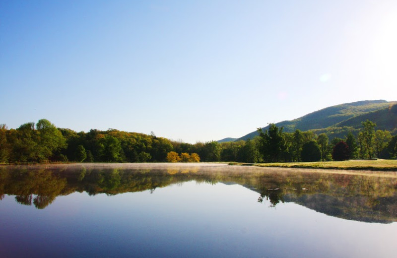 Beautiful Panoramic View of Our Private Lake.