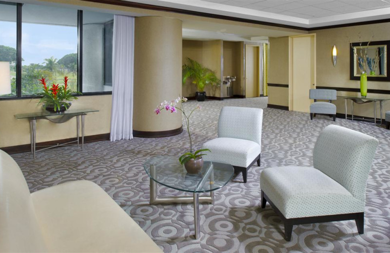 Interior view of Sheraton Miami Airport Hotel.