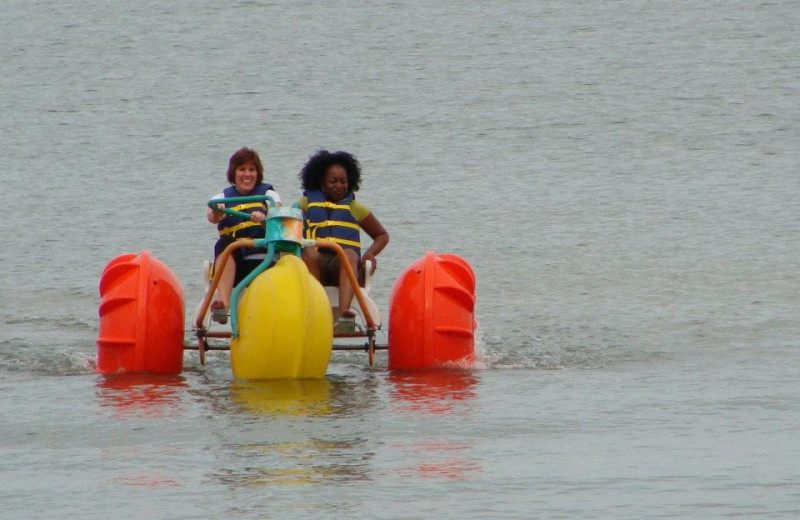 Water activities at Virginia Beach Resort Hotel.