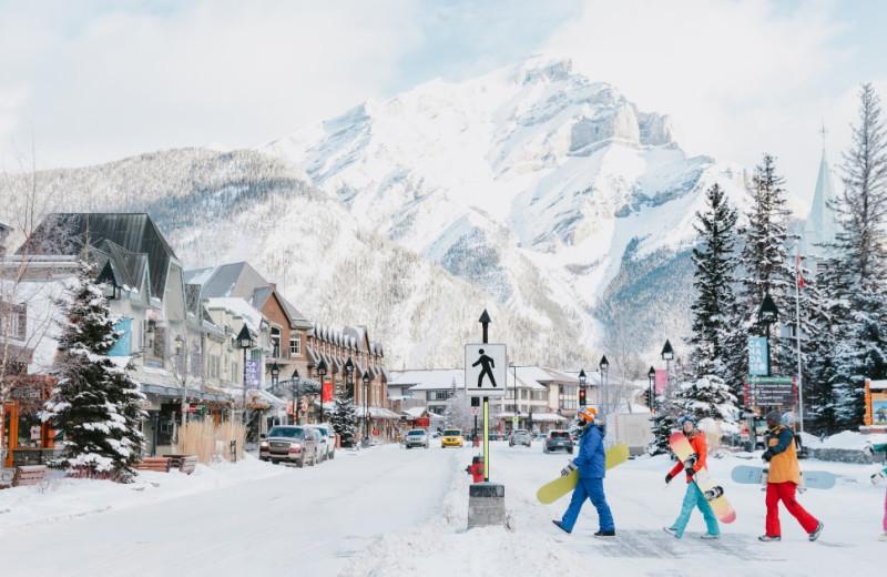 Ski at Banff Caribou Lodge & Spa.