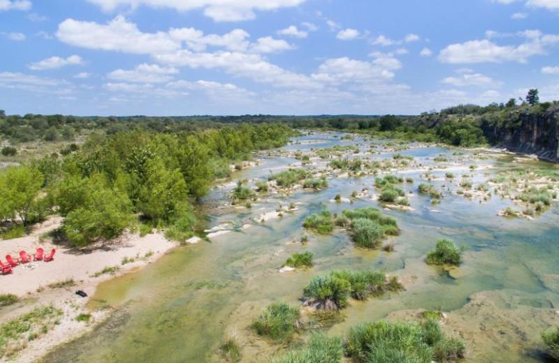Rental river view at Vacasa Fredricksburg.