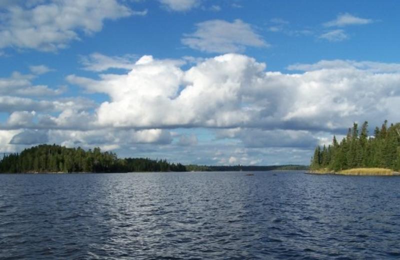 The Lake at Silver Water Wheel Lodge