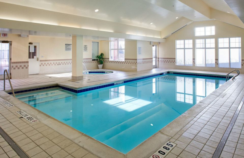 Indoor Pool at the Residence Inn Whitby