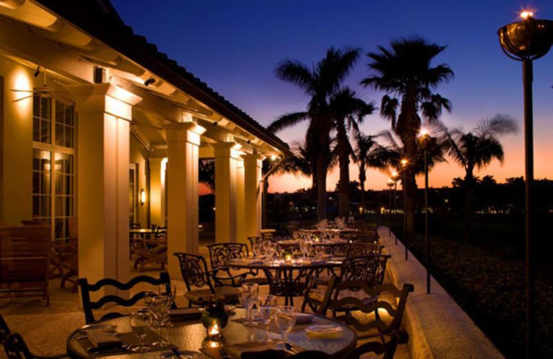 Patio view at The Westin Diplomat Resort.