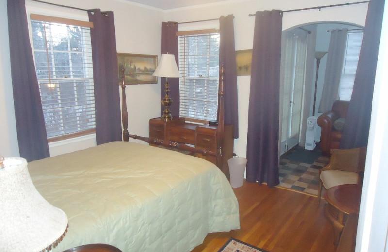 Bedroom at Minnetonka Cape Cod Charmer.
