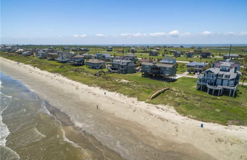 Beach at Gary Greene Vacation Rentals.