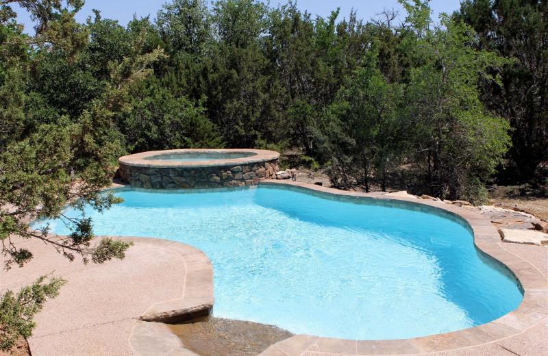 Pool at Hideaway Ranch & Retreat.