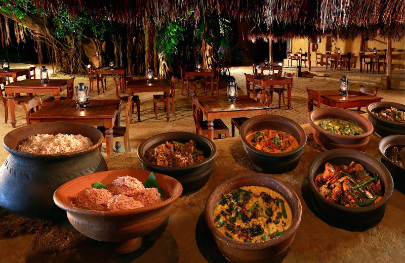 Dining at Cinnamon Grand Colombo.