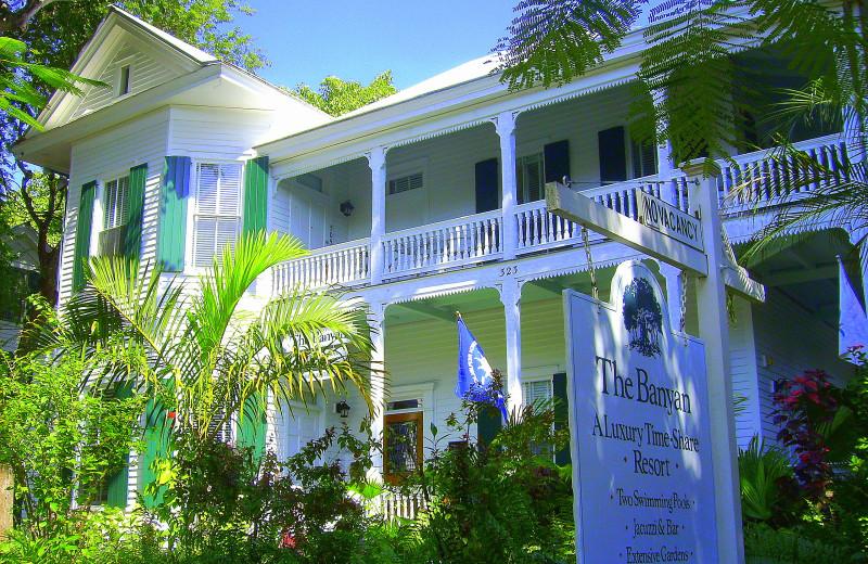Exterior view of The Banyan Resort.