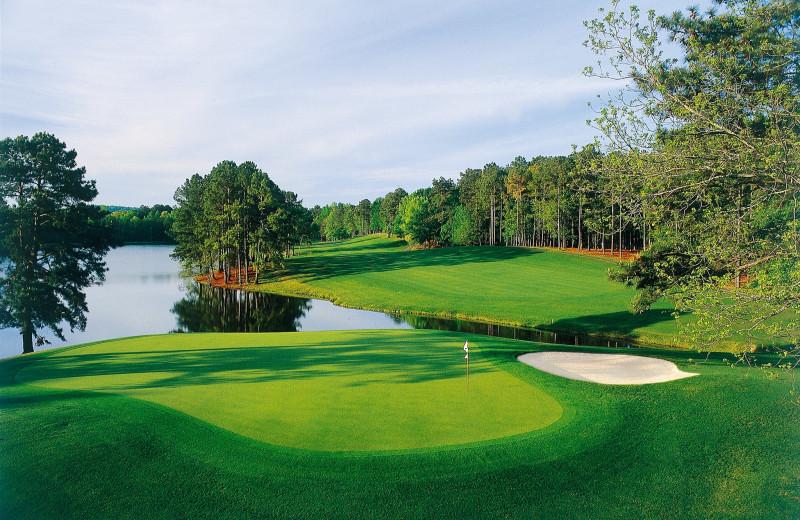 Golf course at Callaway Gardens.