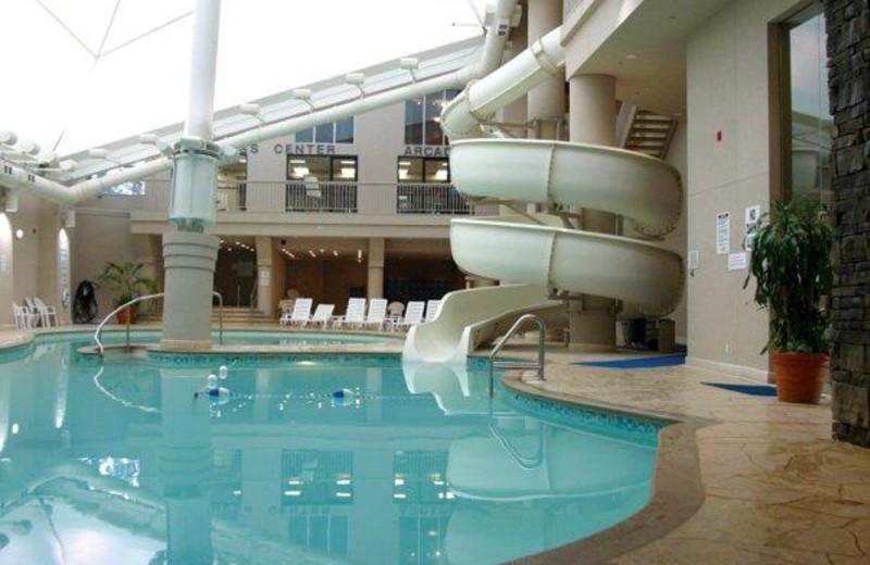 Indoor Pool at the Hilton Niagara Falls