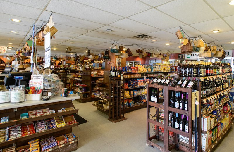 Convenience store at Best Western Silver Fox Inn.