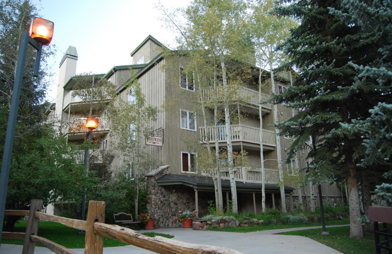 Rental exterior at Westwind at Vail.