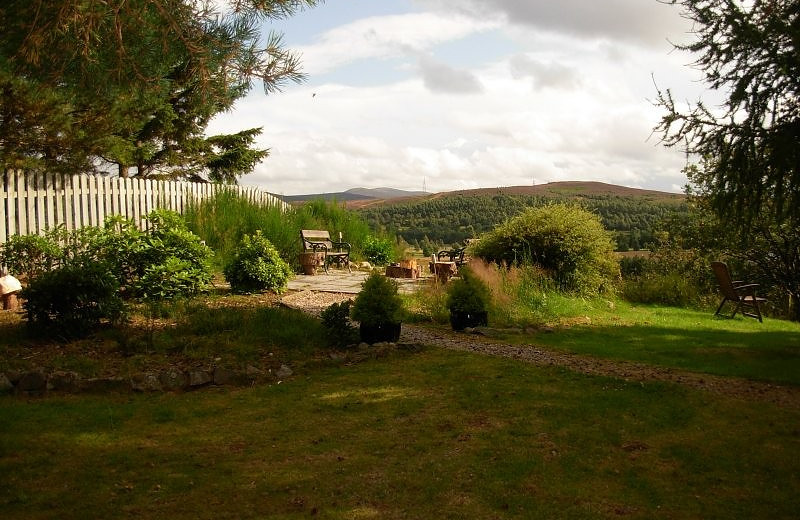 Grounds at Craigerne House Hotel.