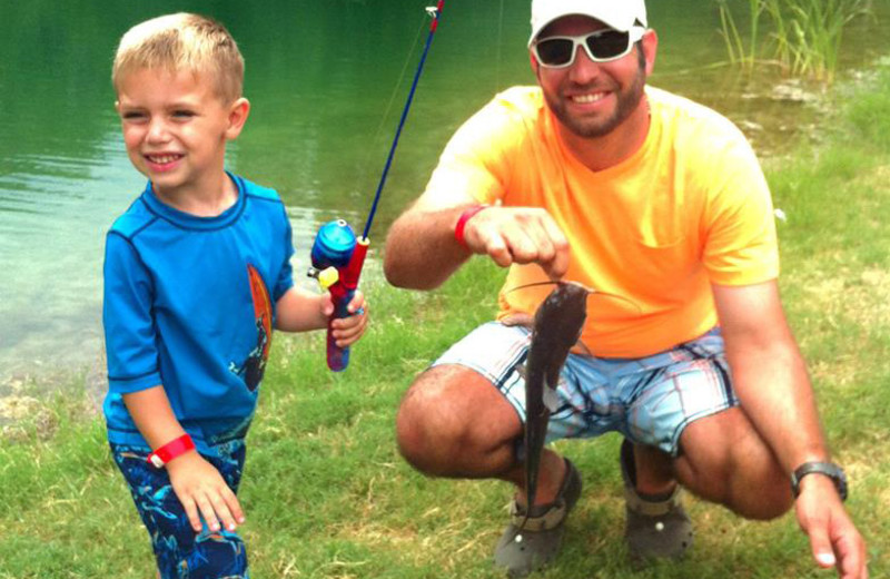 Fishing at Neal's Lodges.
