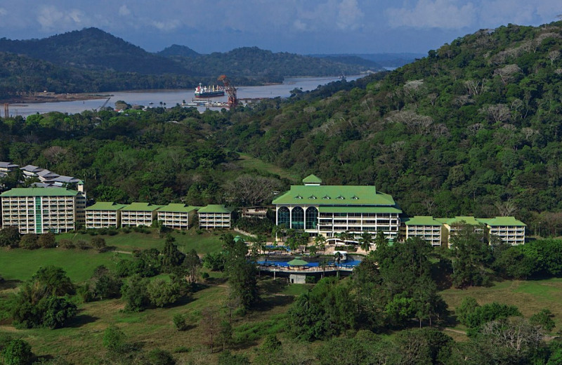 Exterior view of Gamboa Tropical Rainforest Resort.