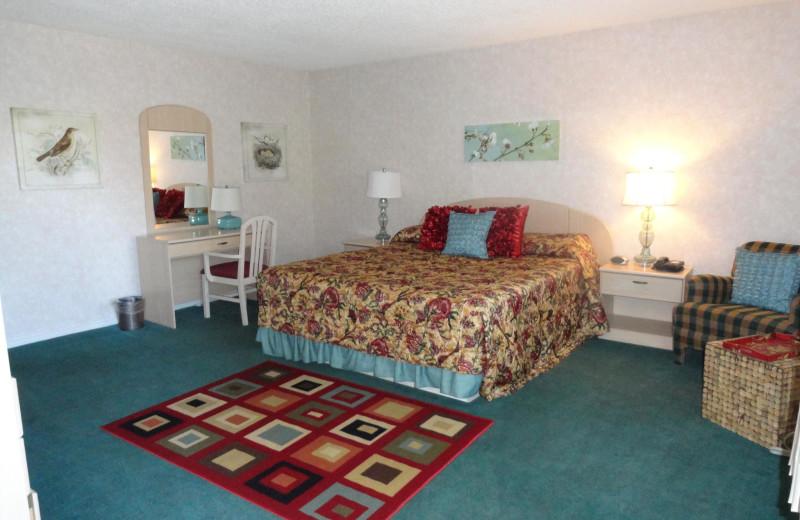 Guest room at Inn At Deep Canyon.