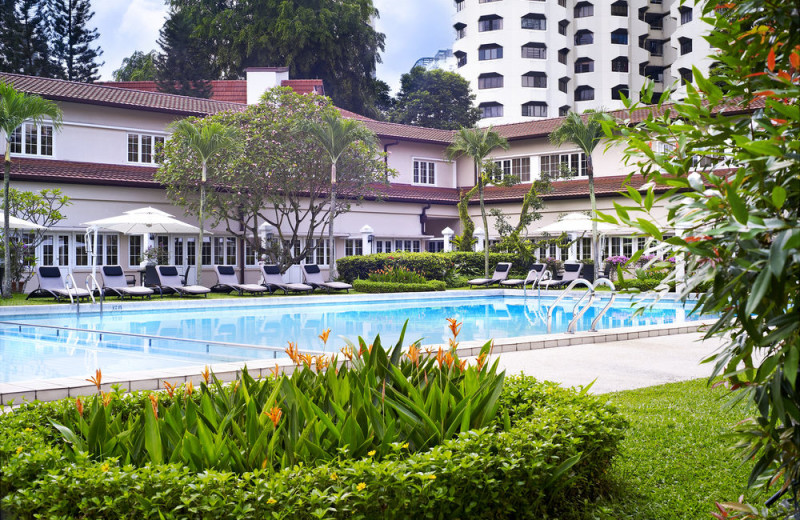 Outdoor pool at Goodwood Park Hotel.