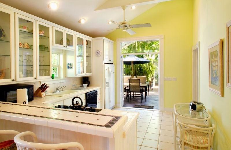 kitchen view at Key West Hideaways.