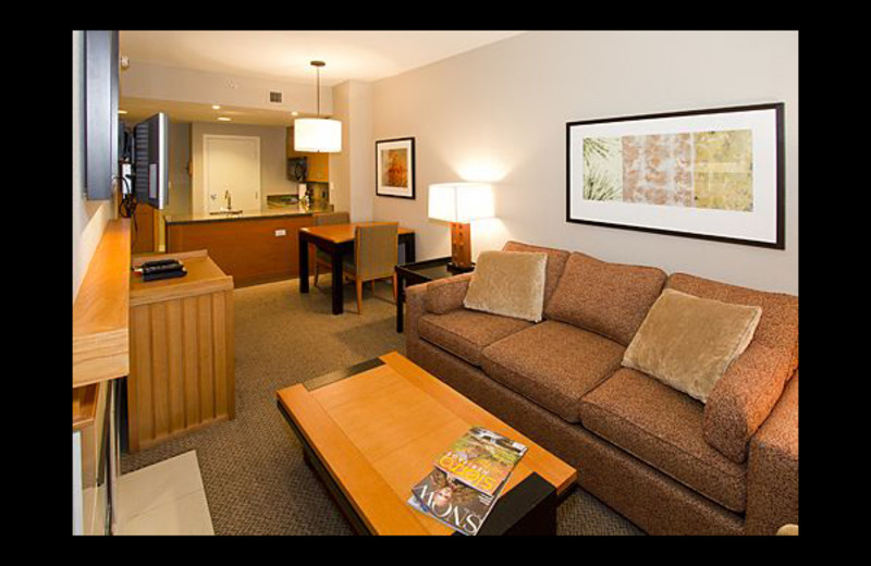 Vacation rental interior at Mammoth Property Reservations.
