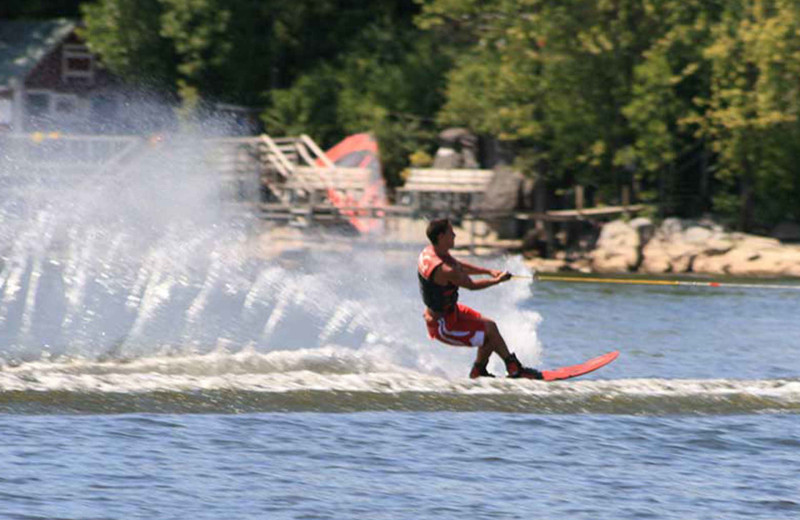 Jet skiing at Tyler Place Family Resort.