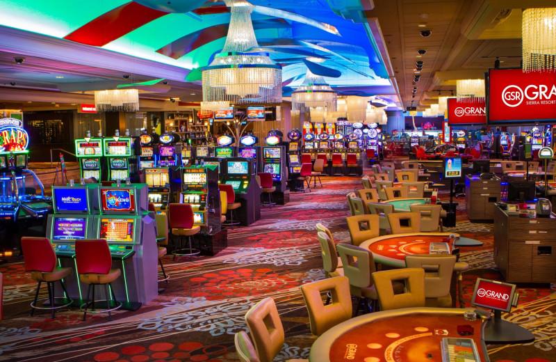 Casino at Grand Sierra Resort and Casino.