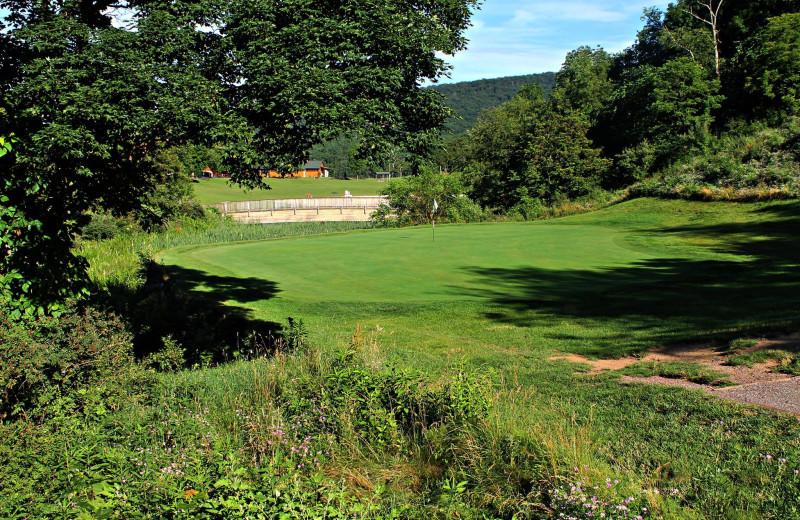 Jack Nicklaus Signature Golf Course at Rocky Gap Casino Resort.