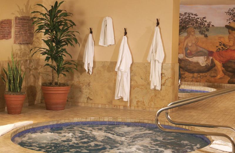 Spat hot tub at Canyon Ranch Tucson.