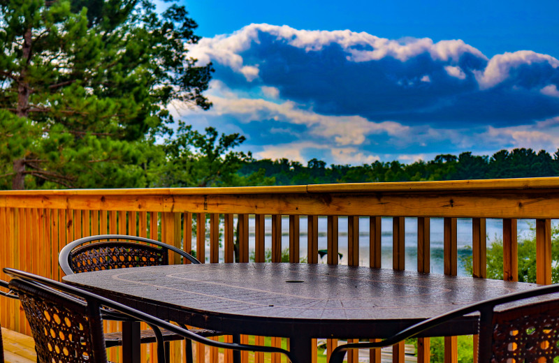 Cabin deck at Wilderness Resort Villas.