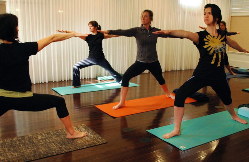 Yoga at The Nantucket Hotel and Resort.