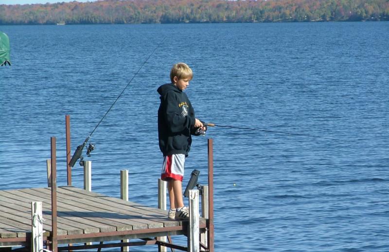 Fishing at Bear's Nine Pines