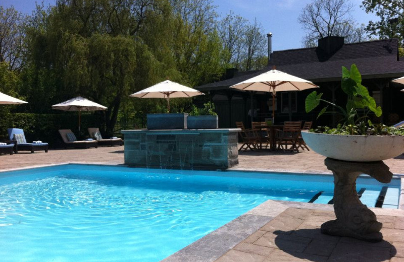 Outdoor Pool at Langdon Hall Country House Hotel & Spa