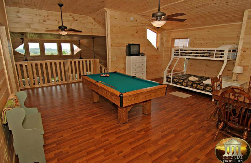 Vacation Rental Interior at Colonial Properties
