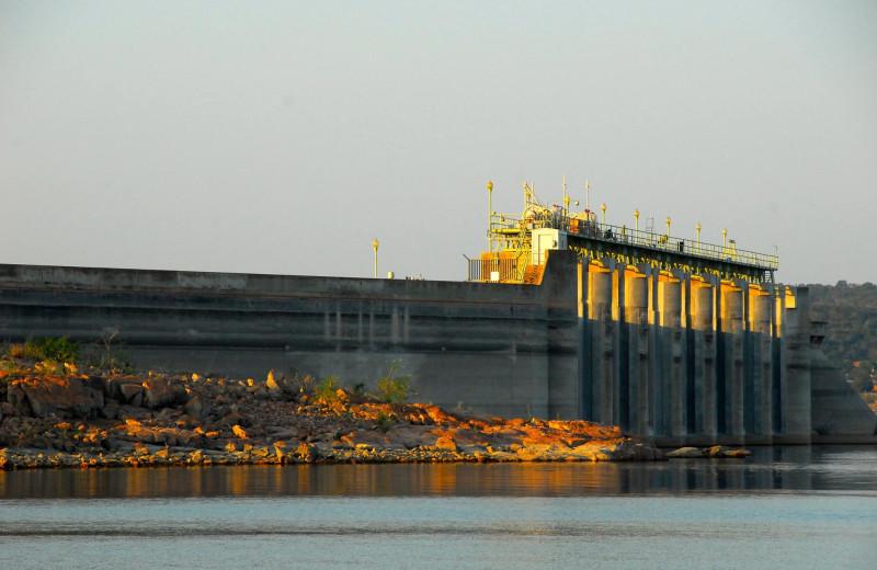 Dam near Big Chief RV Resort.