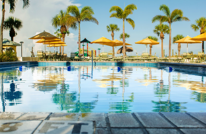 Outdoor pool at Sirata Beach Resort and Conference Center.