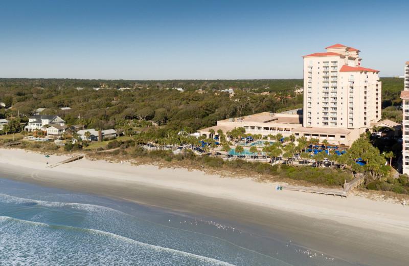 Exterior view of Myrtle Beach Marriott Resort