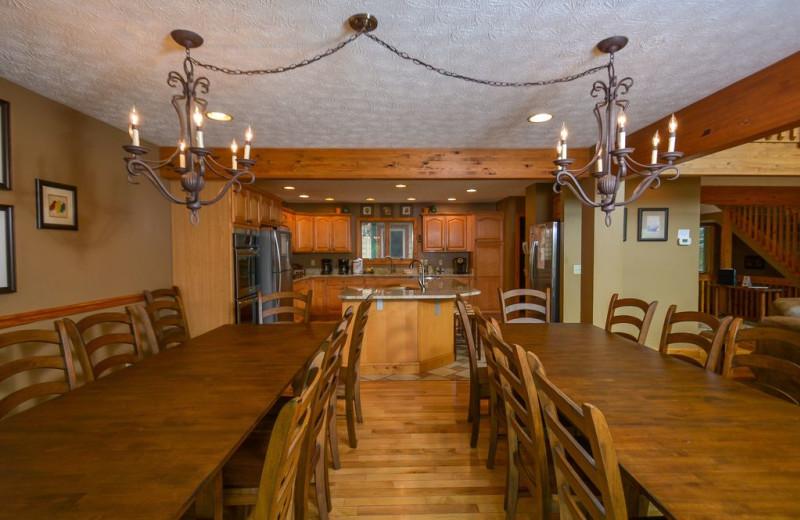 Rental kitchen at Taylor-Made Deep Creek Vacations.